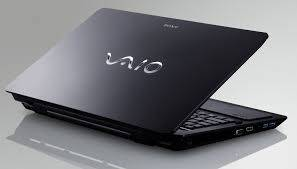 sony vaio laptop back view