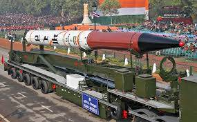 agni-4 ballistic surface to surface missile
