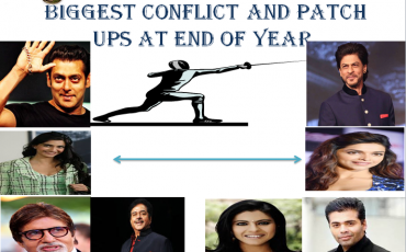 top bollywood stars conflict and patch up at end of year