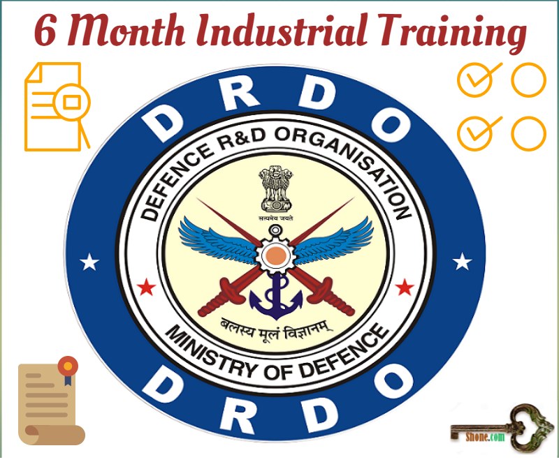 DRDO INTERNSHIP -6 month industrial training in DRDO