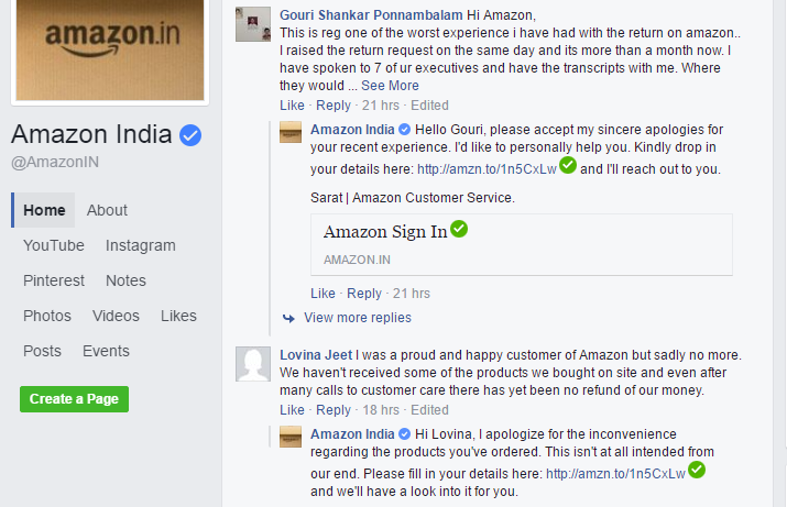 amazon-customer-reply-on-fb-online-business-reputation-protection