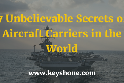 7 Unbelievable Secrets of Aircraft Carriers in the World