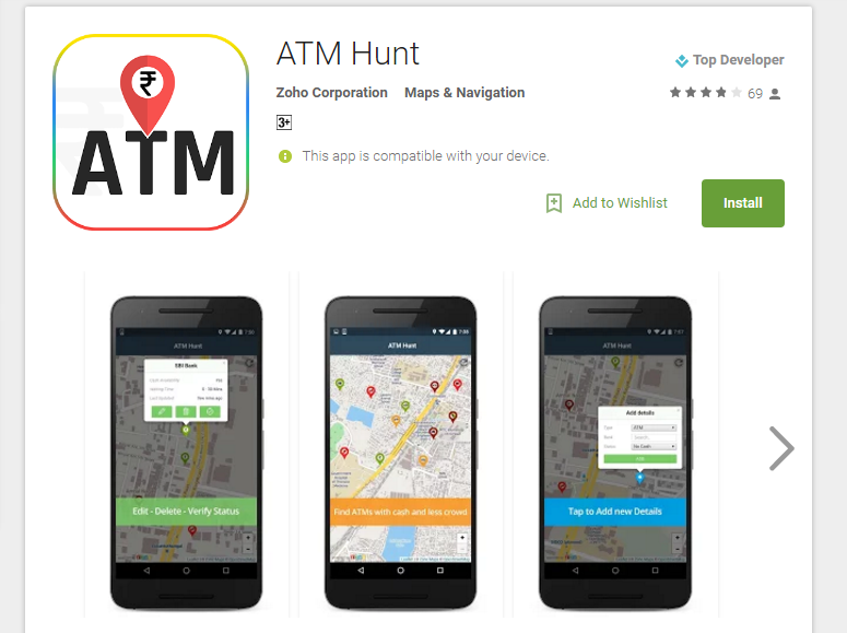 atm hunt cash atm near me mobile app