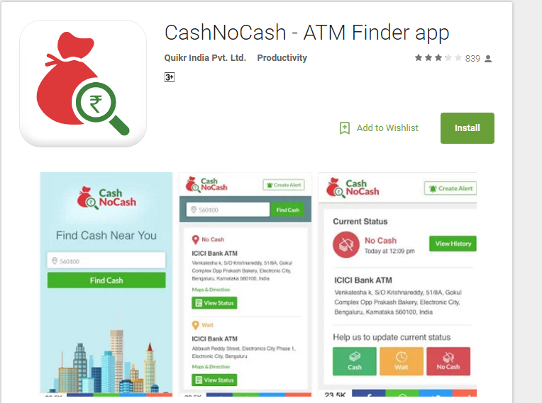 cash no cash by quicker cash atms near me mobile app