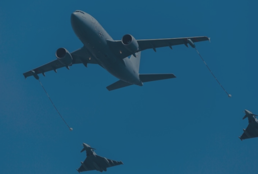 aerial refueling using the probe and drogue system