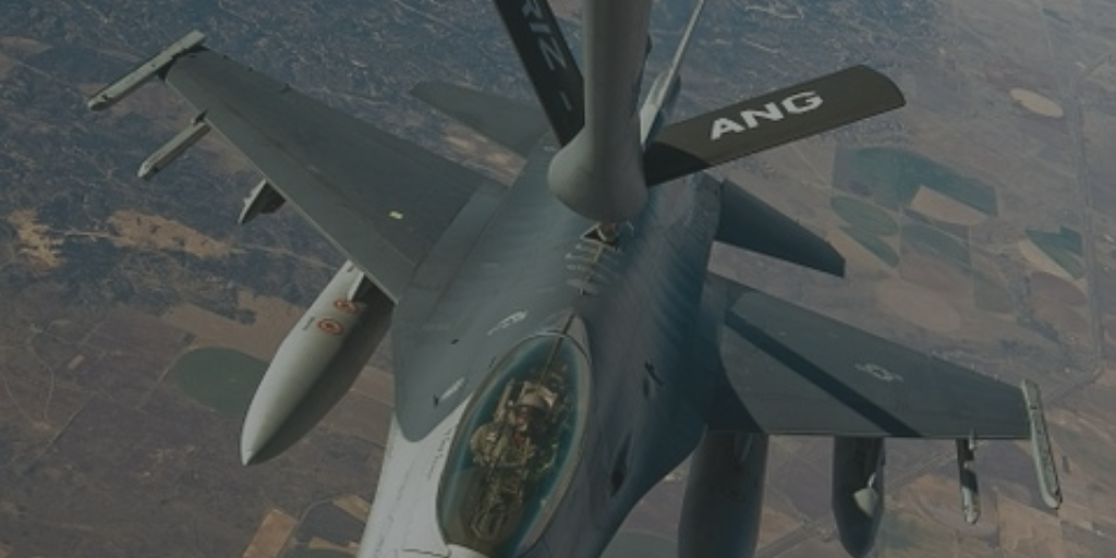 flying boom system in aerial refueling