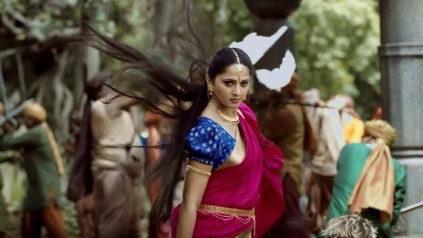 3 devasena attacking on enemies in bahubali 2 conclusion