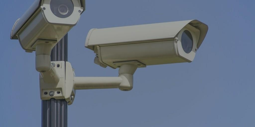 home smart technology CCTV cameras out of houses