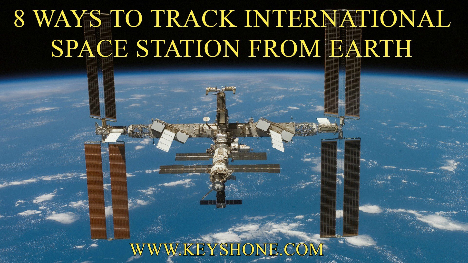 8 Ways to Track International Space Station from Earth