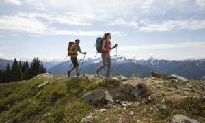 hiking- benefits of carrying tag of exercise and mental health