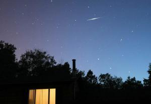 iridium flare from earth