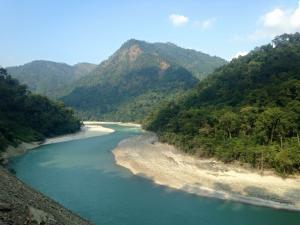 teesta river-places to visit in sikkim
