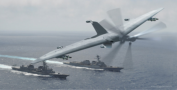 TERN DARPA DEFENSE DRONE NEW AEROSPACE INVENTION 2017