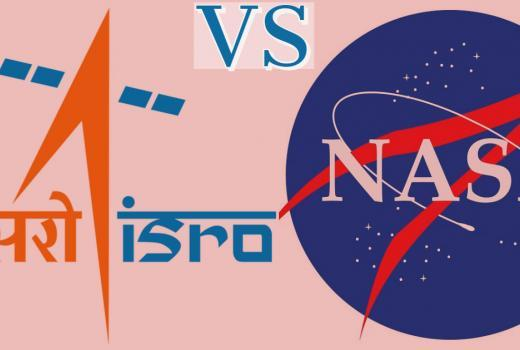 ISRO VS NASA