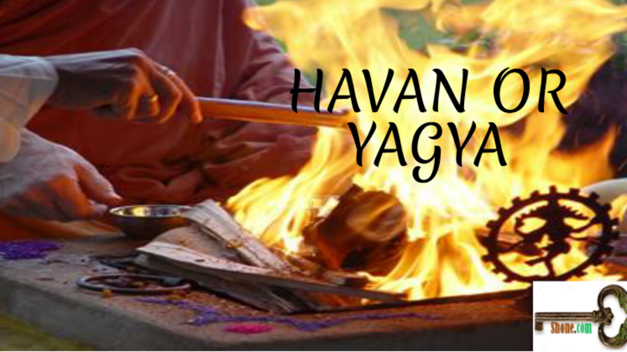 HAVAN OR YAGYA-Vedic Fire Ceremony of Sending The Prayers