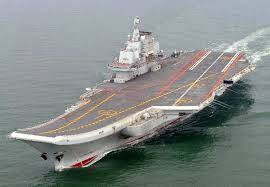 top view of ins vikrant