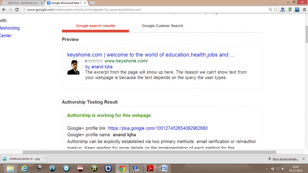 author highlighting or google authorship
