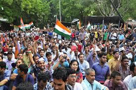 lokpal bill passing celebration