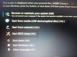 sony vaio assist button option dispaly
