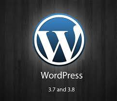 wordpress 3.8 logo