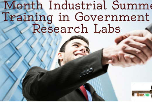 6 month industrial summer training in government research la
