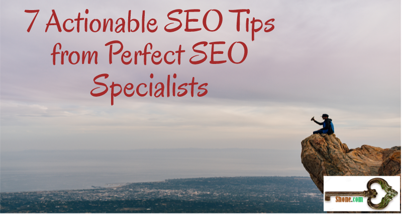 actionable seo tips from seo's