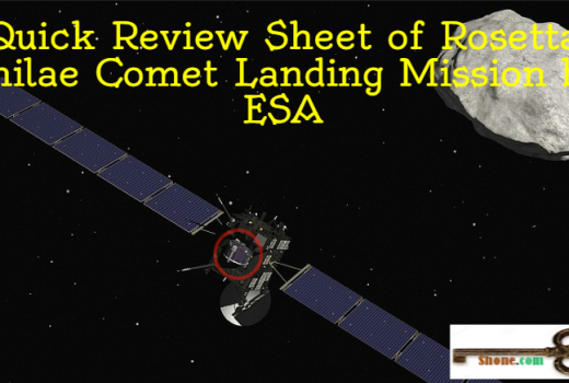 quick-review-sheet-of-rosetta-philae-comet-mission-by-esa
