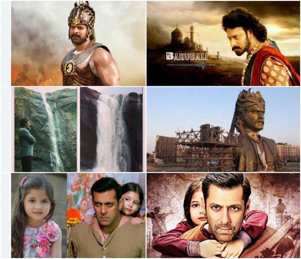 five Bahubali vs Bajrangi Bhaijaan extra shots and plus points
