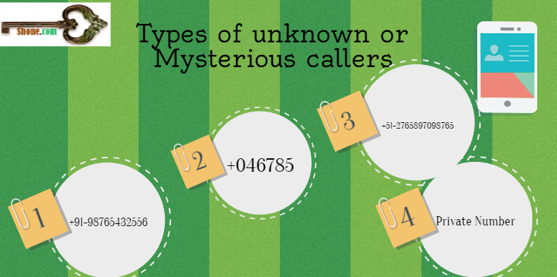 unknown or mysterious callers types