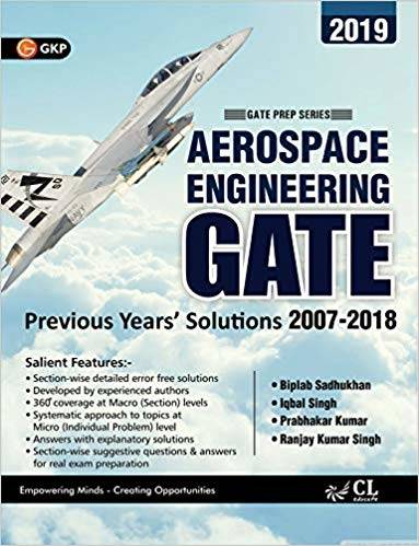 GATE 2019 AEROSPACE ENGINEERING 12 YEARS SOLVED PAPERS