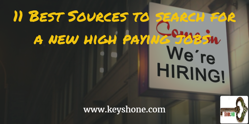 search new high paying jobs