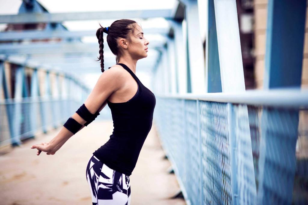 outdoor running other than treadmill exercise