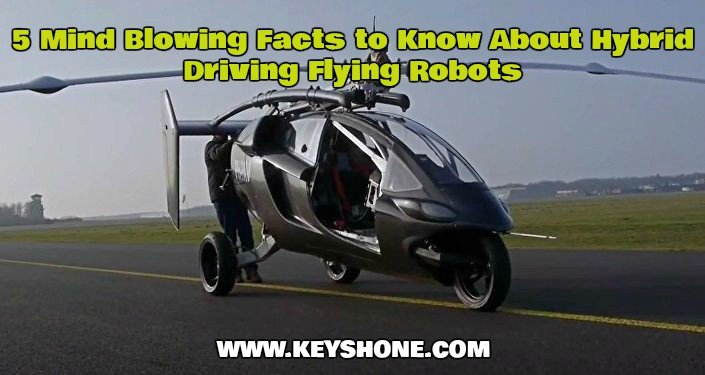 5 Mind Blowing Facts to Know About Hybrid Driving Flying Robots