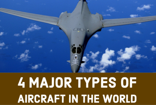 4 Major Types of Aircraft in the World