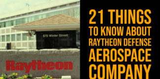 21 Things to Know About Raytheon Defense Aerospace Company